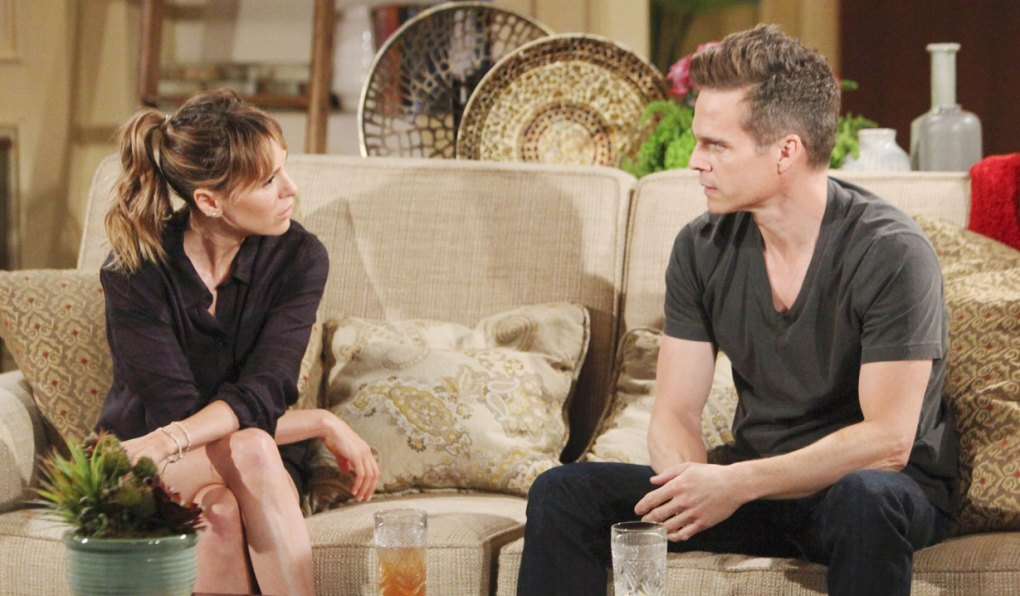 kevin and chloe talk on young and restless
