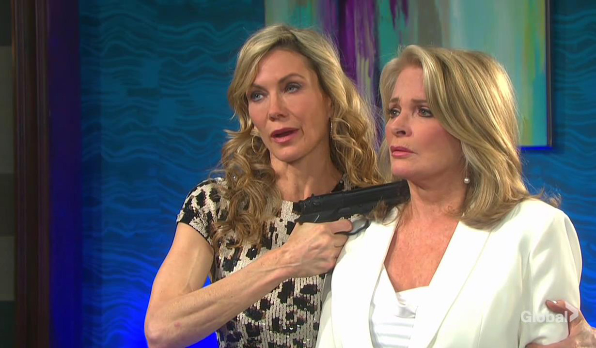 kristen has gun on marlena days of our lives