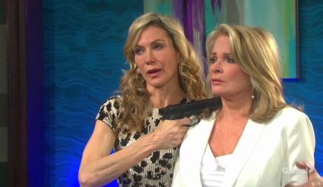 kristen has gun on marlena days of our lives