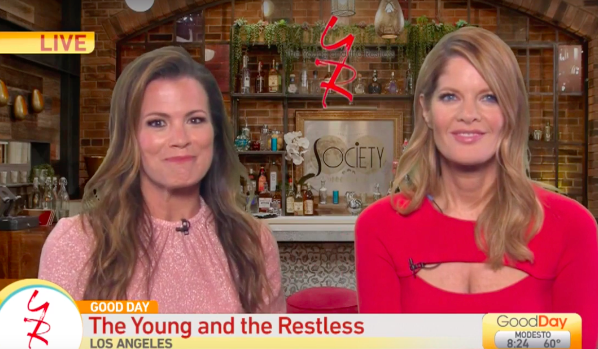 Melissa Claire Egan and Michelle Stafford preview Y&R on Good Day Sacramento