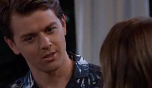Michael contemplates Sasha's words on General Hospital