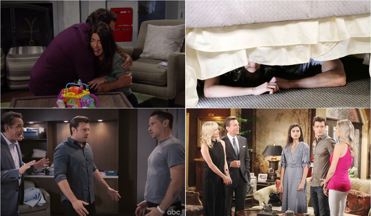 bold and beautiful days of our lives general hospital young and the restless roundup august 19