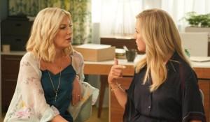 Tori Spelling and Jennie Garth talk on BH90210