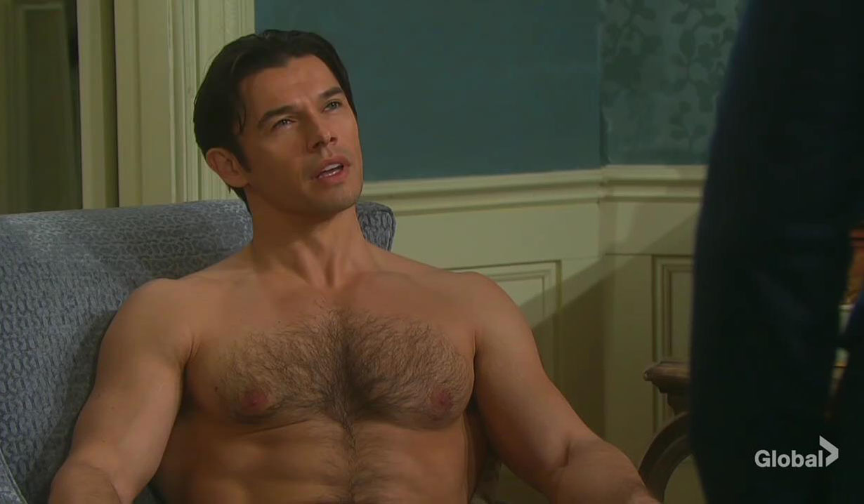 xander hears ted dead days of our lives