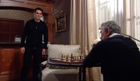 Adam faces Victor on Young and the Restless