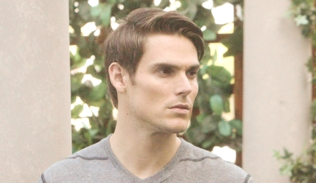 Adam plots in park Young and Restless