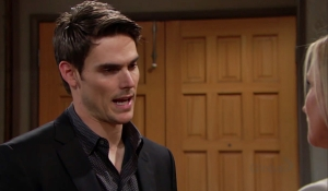 Adam questions Sharon's offer Young and Restless