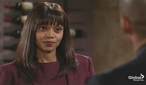 Amanda faces Devon Young and Restless