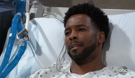 Andre wakes up on General Hospital