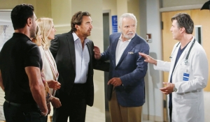 Bill, Donna, Brooke, Ridge, Eric, Dr. Armstrong Bold and Beautiful