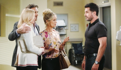 Brooke, Ridge, Donna get update from Bill Bold and Beautiful
