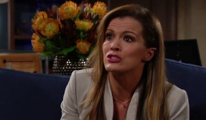 Chelsea angry at Nick Young and Restless
