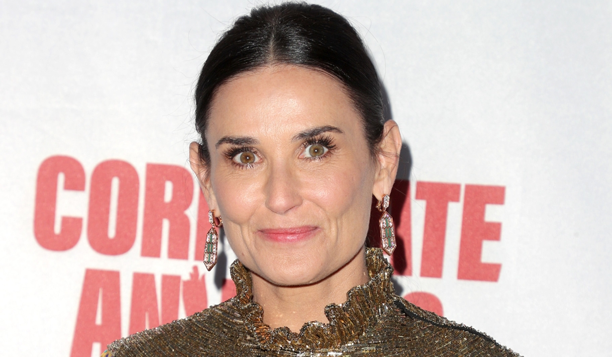 Demi Moore on General Hospital