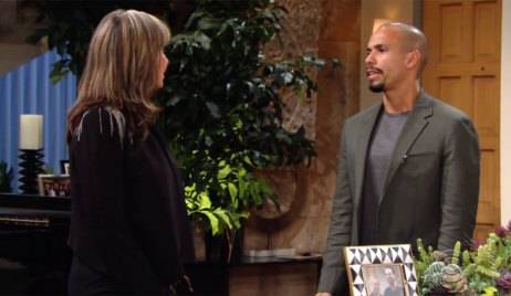 Devon and Jess discuss the will on Young and the Restless