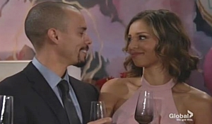 Devon toasts to Elena Young and Restless