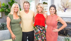 Eileen Davidson Vince Van Patten hosts Home & Family Young and Restless