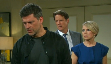 Eric, Jack and Jennifer question Dr. Rolf Days of our Lives