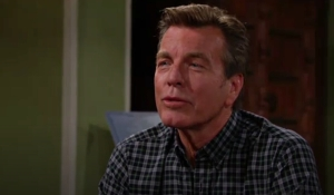 Jack talks to Sharon Young and Restless