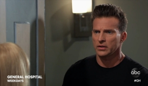 Jason interrupts Monica and Franco General Hospital