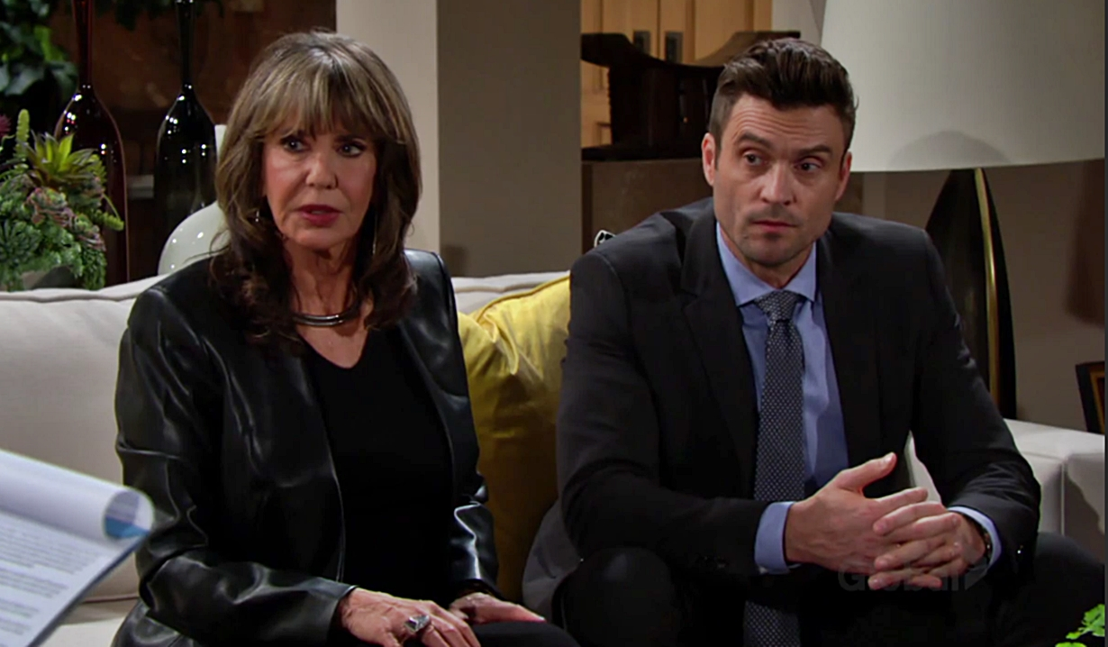 Jill and Cane at will reading Young and Restless