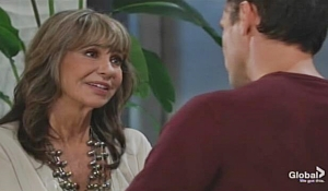 Jill grills Billy Young and Restless