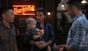 Julian gets a visit from Wiley on General Hospital