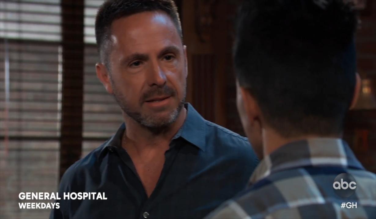 Julian realizes what Brad did General Hospital