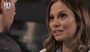 Franco and Kim discuss their feelings General Hospital
