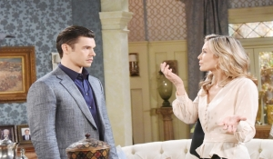 Kristen and Xander argue about Sarah Days of our Lives