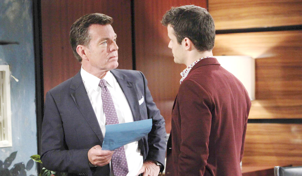 Jack and Kyle at Jabot on Young and the Restless