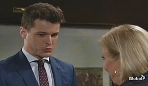 Kyle updates Traci Young and Restless