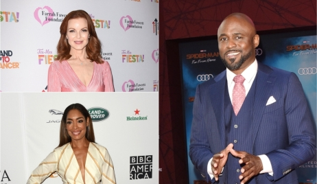 Marcia Cross, Gina Torres, Wayne Brady Concert for America Bold and Beautiful
