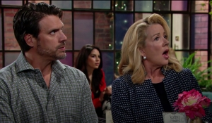 Nick and Nikki arrest Young and Restless