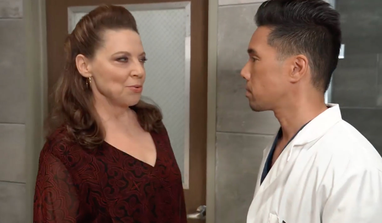 Obrecht blackmails Brad on General Hospital