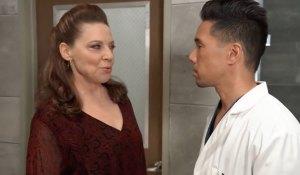 Obrecht blackmails Brad on General Hospital