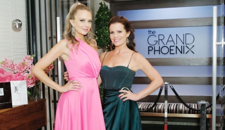 Abby and Chelsea Grand Phoenix opening Young and Restless