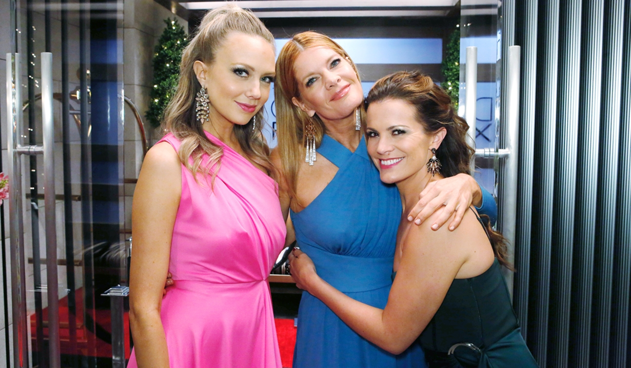 Abby, Phyllis and Chelsea Young and Restless