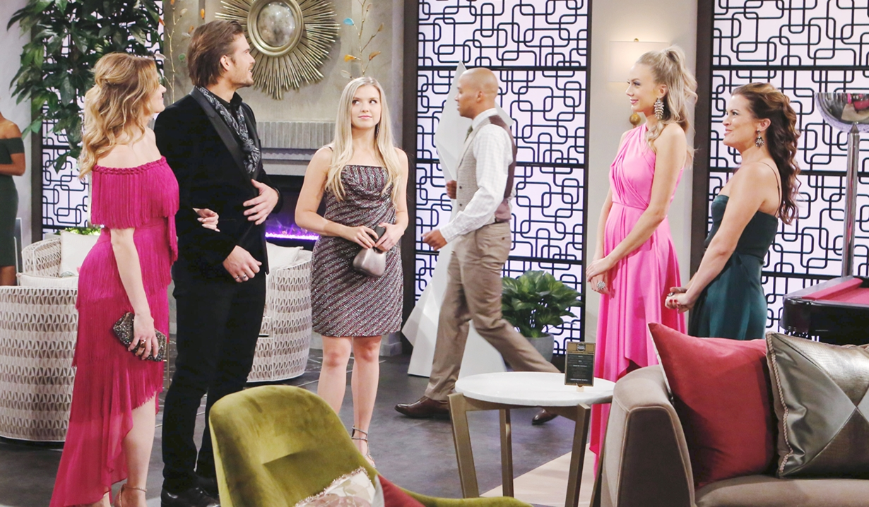 Summer, Theo, Abby and Chelsea Young and Restless
