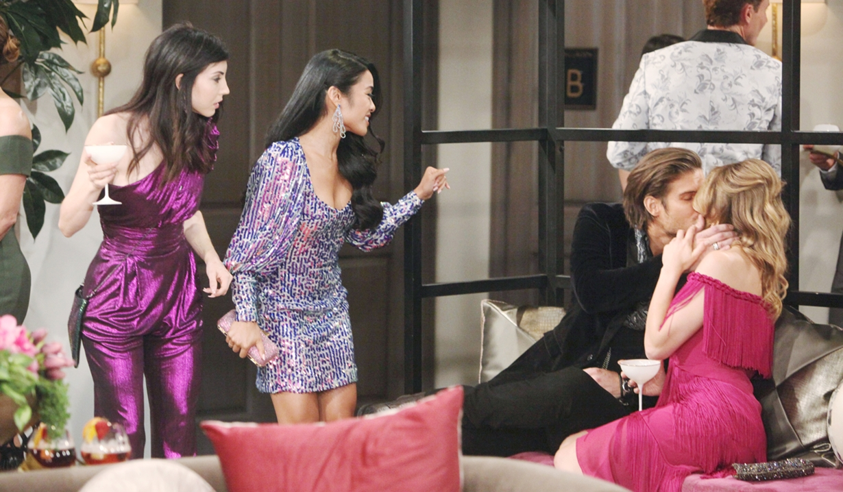 Tallulah, India, Theo and Summer Young and Restless