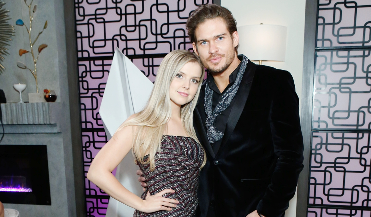 Zoe and Theo Young and Restless