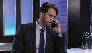 Peter makes a call General Hospital