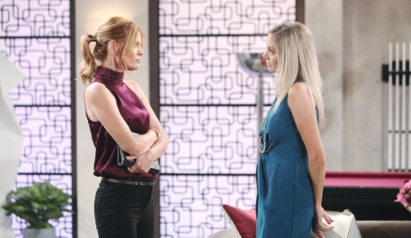 Phyllis and Abby deal Young and Restless