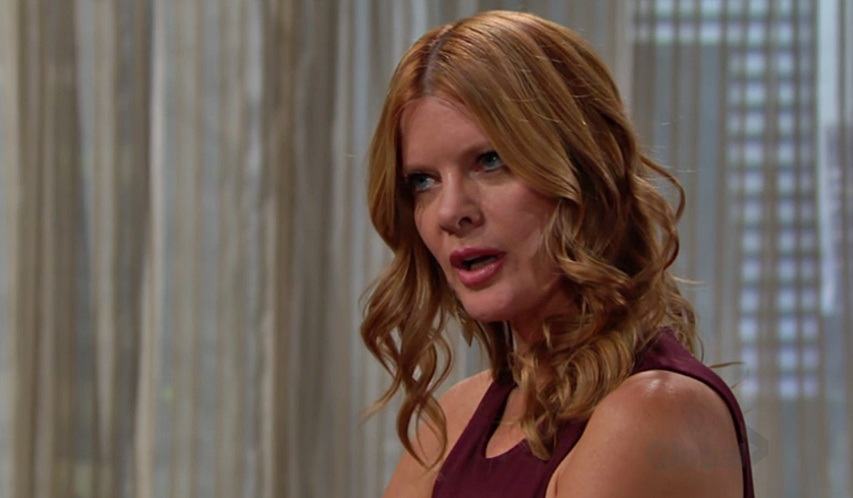 Phyllis questions Adam Young and Restless
