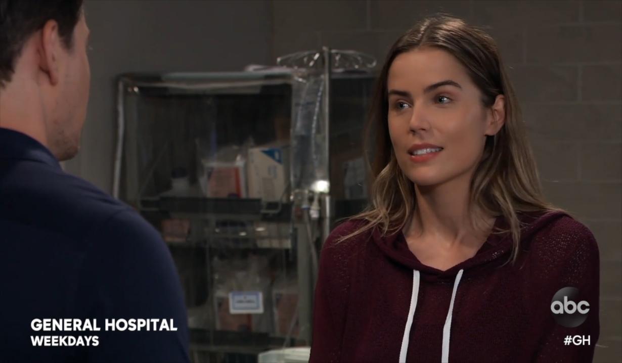 Sasha tells Michael the truth General Hospital