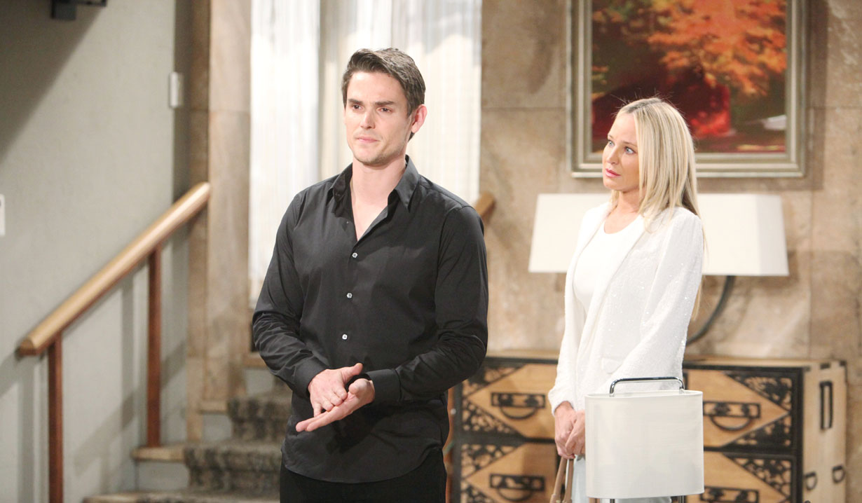 Sharon makes a deal with Adam on Young and the Restless