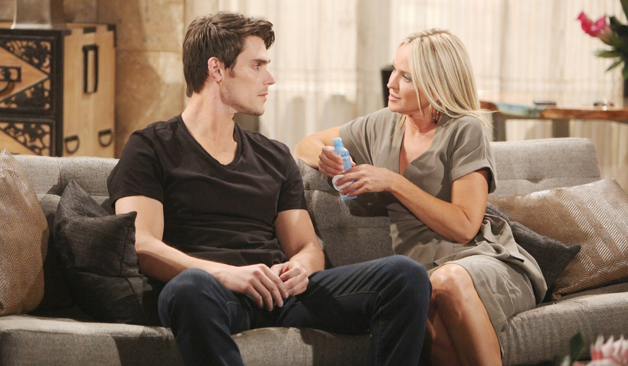 Sharon and Adam Young and Restless