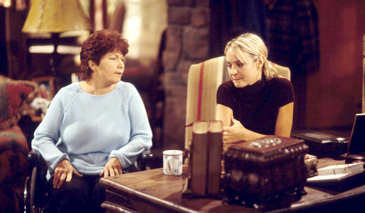 Sharon and Doris Young and Restless