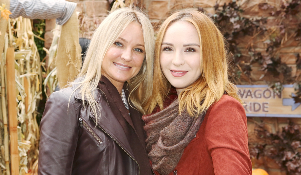 Sharon and Mariah Young and Restless