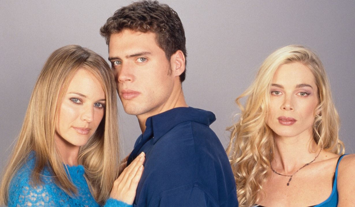 Sharon, Nick, and Grace Young and Restless