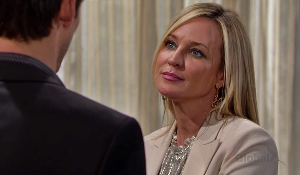 Sharon offers Adam a deal Young and Restless